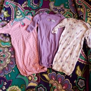 Bundle of baby gowns #bb70